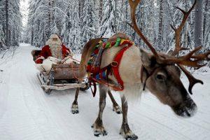 Suomijoje kelionę pradėjo Kalėdų Senelis