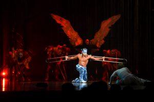 """Susidomėjimas """"Cirque du Soleil"""" spektakliu neatslūgsta"""