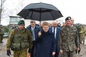 Prezidentė: Liuksemburgas – patikimas Lietuvos saugumo partneris