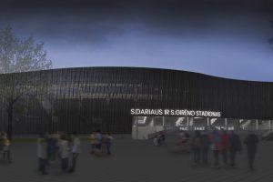 Aiškėja, kaip po rekonstrukcijos atrodys S. Dariaus  ir S. Girėno stadionas