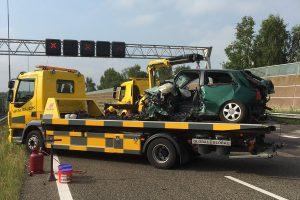 Šiurpi nelaimė: per masinę avariją Nyderlanduose žuvo lietuvis