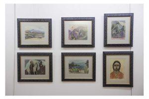 P. Domšaičio paveikslus naciai metė iš muziejų