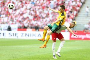 Lietuvos futbolininkai turėjo pripažinti lenkų pranašumą