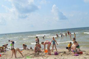 Palangoje pirmą kartą jūrą pamatys virš 500 vaikų