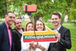"""Prie kampanijos """"Už saugią Lietuvą"""" jungiasi daugiau žinomų žmonių"""