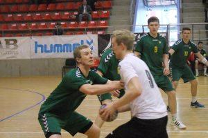 Lietuvos 20-mečių rankinio rinktinė atrankos turnyre liko trečia