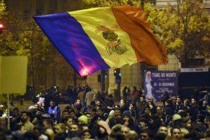 Rumunijos premjero atsistatydinimas nenuramino protestuotojų