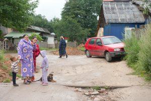 Netoli taboro rastas miręs vyras