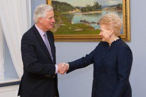 """D. Grybauskaitė: būtina užtikrinti lietuvių teises po """"Brexit"""""""