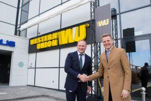"""Sostinėje duris atvėrė jau ketvirtasis """"Western Union"""" biurų pastatas"""