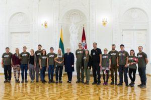 """Į Lietuvą grįžo """"Misijos Sibiras"""" dalyviai"""