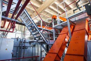 Sostinę šildys nauja biokuro katilinė