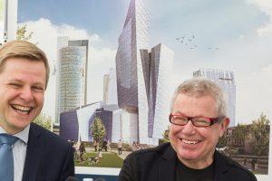 Vilnių papuoš dar vienas garsaus JAV architekto projektas