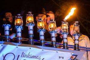 Vilniuje uždegta Didžioji Menora