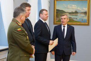 Valstybės gynimo taryba patvirtino Lietuvos žvalgybos prioritetus