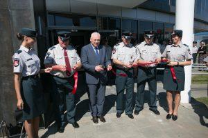 Iškilmingai atidarytas į naujas patalpas persikėlęs Vilniaus policijos komisariatas