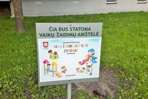 Alytuje bus įrengta 10 vaikų žaidimų aikštelių