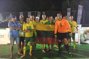 Auksinė liūtis: lietuviai – pasaulio gatvės futbolo mėgėjų čempionai