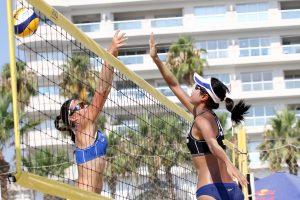 Lietuvos paplūdimio tinklininkai tęsia puikų pasirodymą Larnakoje