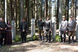 Šimtai žmonių pagerbė Aukštaitijos partizanus