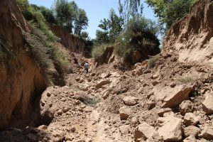 Tibete per žemės drebėjimą sužeista bent 60 žmonių