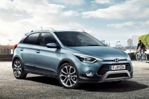 """Miesto klajūnus sudomins naujas """"Hyundai i20 Active"""""""