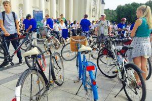 Žydų Naujuosius metus kviečia pasitikti ant dviračių