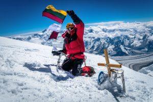 Alpinistas: negalime niekais švaistyti savo gyvenimo