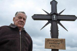 Kryžius primins išnykusius kaimus