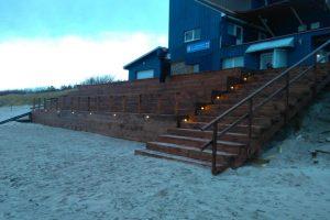Paplūdimyje – nauja zona