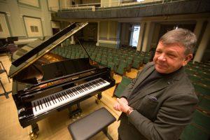 Kauno filharmonijos direktorius: apie tai svajojau 30 metų