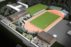 Sportininkai džiaugiasi: vietoj tragiškos būklės mokyklos – modernus centras