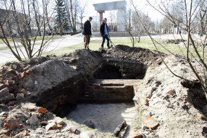 Skvere – pirmieji archeologų atradimai