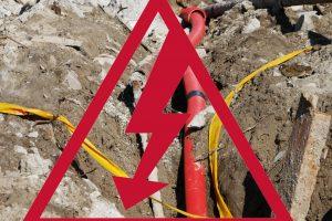 Už svetimą kabelį – bauda