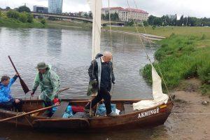 Žvejų valtimi – per Lietuvą