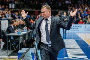 """""""Neptūno"""" treneris K. Maksvytis: liko neatsipalaiduoti ir užbaigti seriją"""