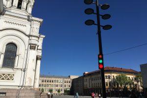 Kauniečiai klausia – mes atsakome: kam prie Soboro reikalingas šviesoforas?