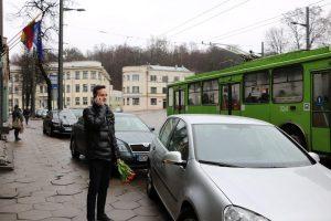 Vairuotoją iš keblios situacijos išgelbėjo Kauno policijos vadas