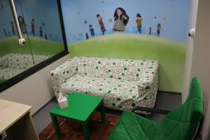 Vaikų apklausoms – specialus kambarys