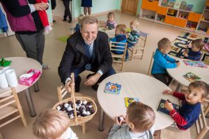 Kitąmet Vilniuje planuojama sukurti beveik 1 000 vietų darželiuose