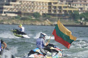Istorinis rezultatas vandens motociklų sporte: lietuviui – pasaulio čempionato bronza