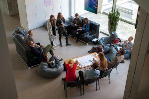 Studentų idėjos – didžiajam verslui