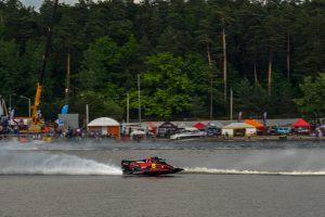 Vandens formulės Kauno mariose skries įspūdingu greičiu