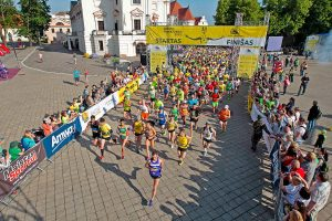 """""""Kauno maratone"""" bus renkama aktyviausia mokykla"""