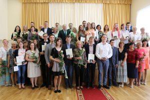 Kauno rajono abiturientai surinko 25 šimtukus