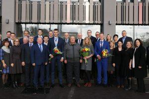 Pasaulio irklavimo čempionams – savivaldybės apdovanojimai
