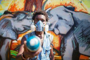 Ruandoje skleidžiasi gatvės menas