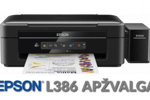 """""""EPSON"""" spausdintuvas: įsigyti ir verta, ir apsimoka"""