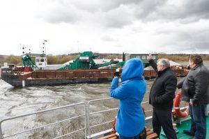 Į Nemuną jau išplaukia laivai