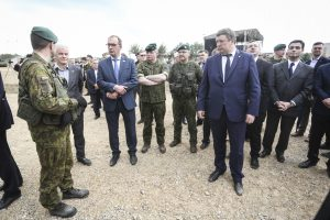 R. Karoblis: sąjungininkų dėmesys mūsų regionui išlieka